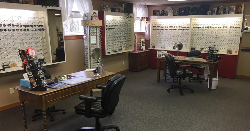 optical gallery at Family Vision Center